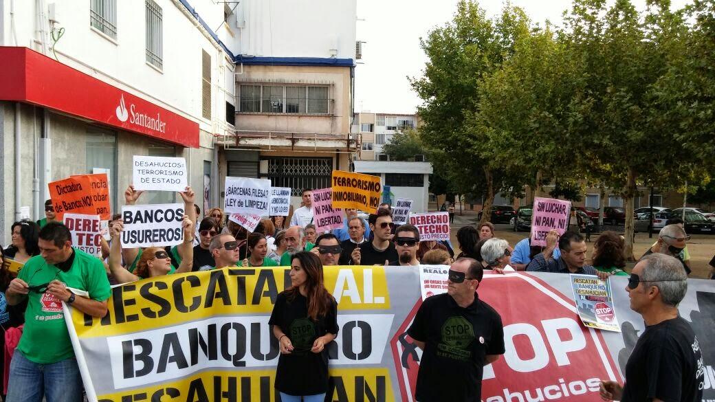 Stop Desahucios convoca una concentración para pedir una Ley que garantice el derecho a la vivienda digna
