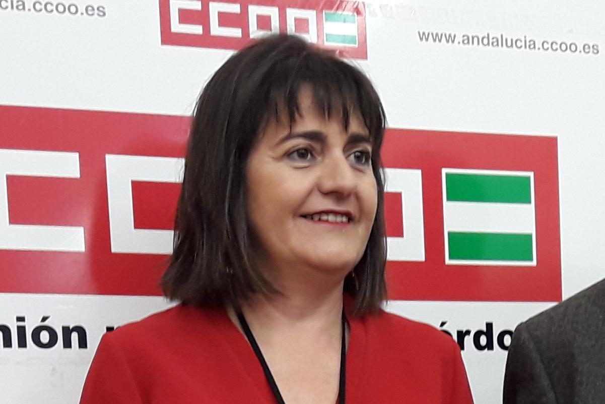 Marina Borrego Martínez. Secretaria Provincial de CC.OO.