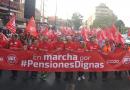 En marcha por pensiones dignas