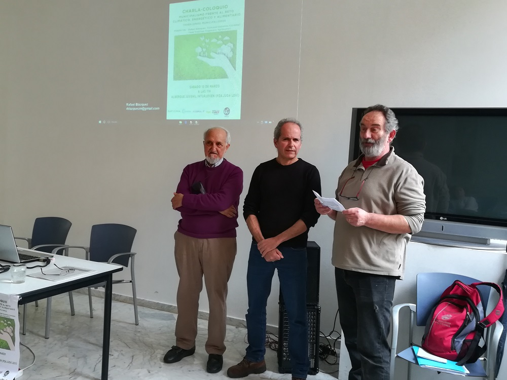 Analizan en unas jornadas los retos del municipalismo frente al cambio climático
