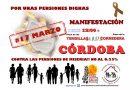 17M: manifestación en Córdoba por unas pensiones dignas