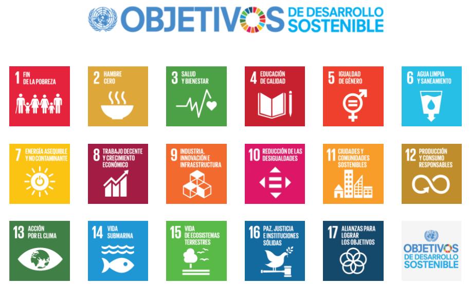 LOS OBJETIVOS DE DESARROLLO SOSTENIBLE. AGENDA 2030 DE NACIONES UNIDAS