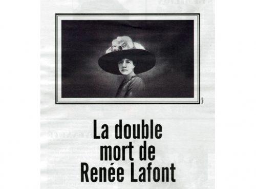 La doble muerte de Renée Lafont