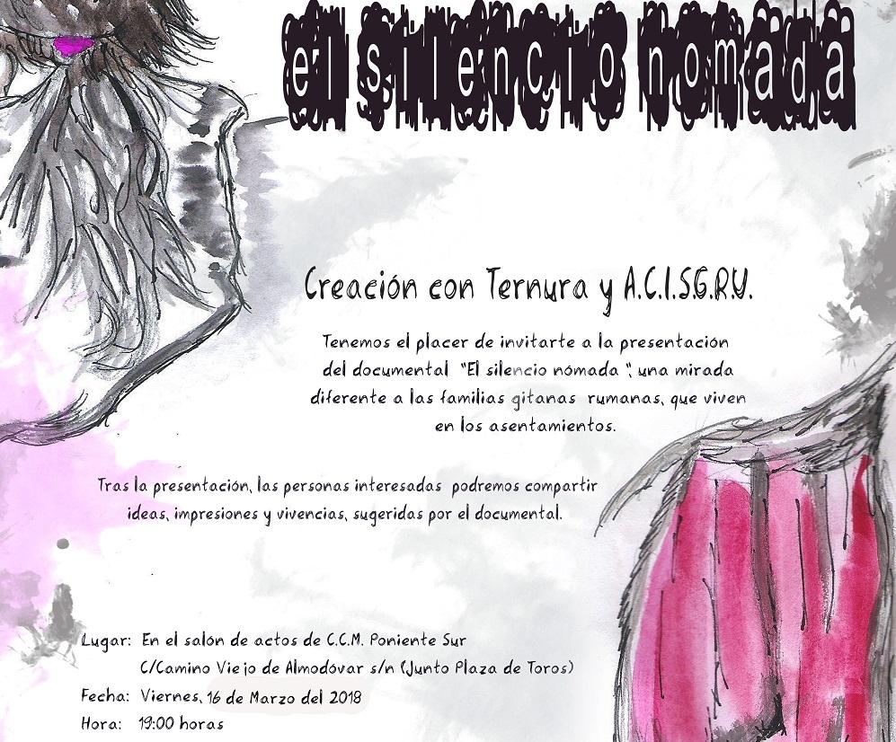 """""""El silencio nómada"""": el 16 de marzo se estrena el documental sobre el colectivo gitano rumano en Córdoba"""
