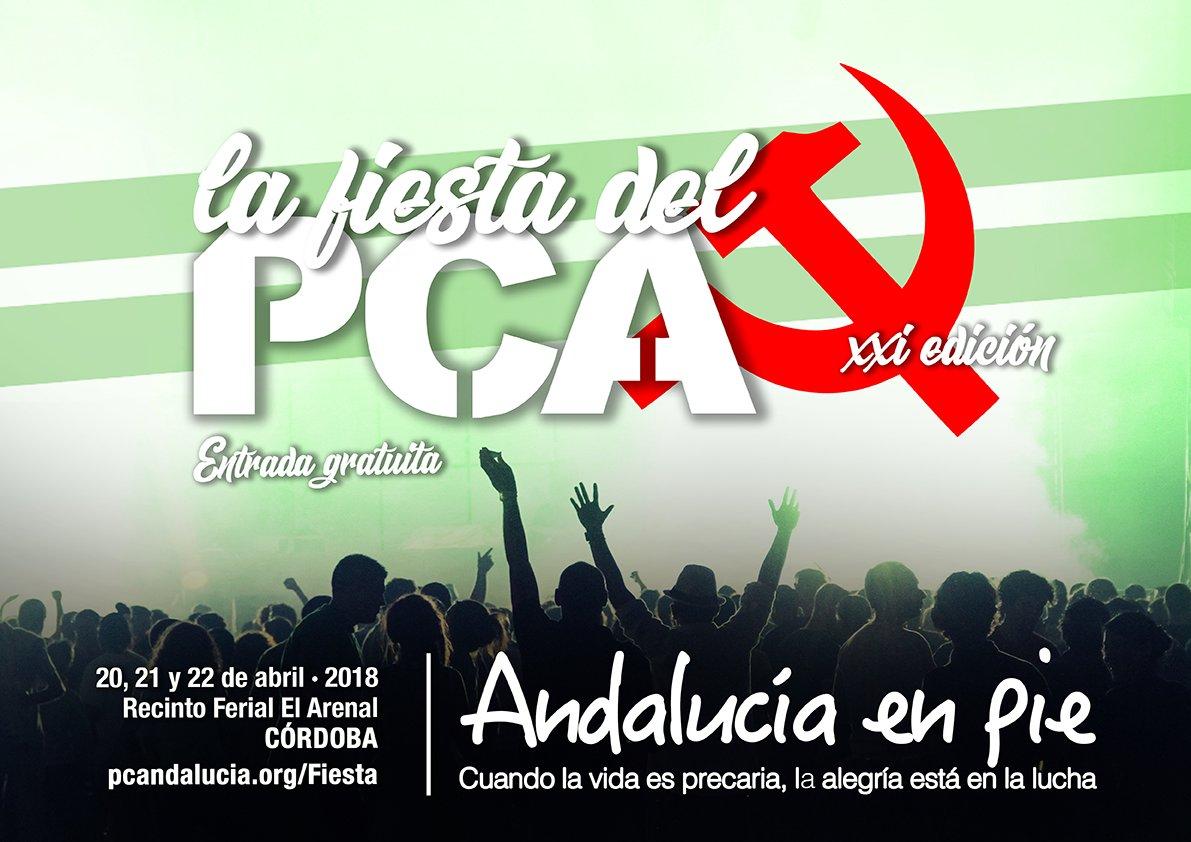 """El PCA afronta su fiesta como un hito esencial en la construcción de la unidad popular para """"la Andalucía que viene"""""""