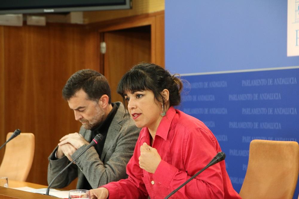 Podemos Andalucía e IU-LV-CA presentan sus enmiendas a los PGE 2018