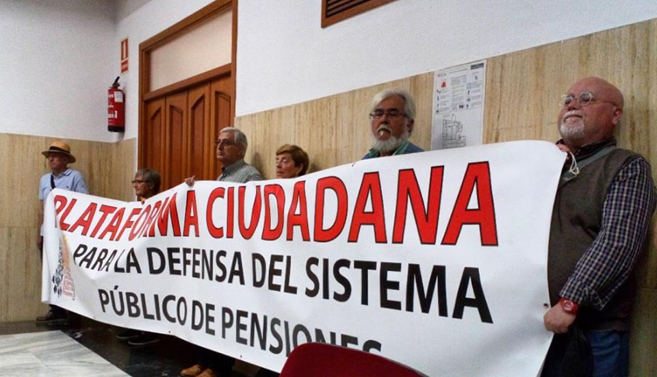 La movilización ciudadana por la defensa del sistema público de pensiones tiene una nueva cita este sábado 26 de mayo en más de 100 localidades de toda España