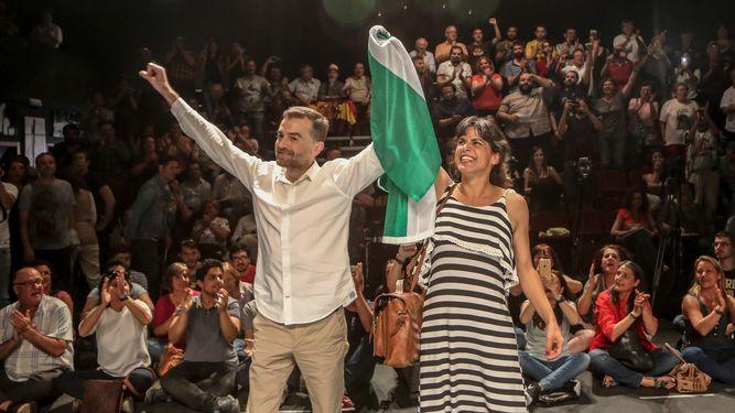 IU y Podemos dan los primeros pasos para ir juntos a las elecciones municipales y autonómicas en Andalucía