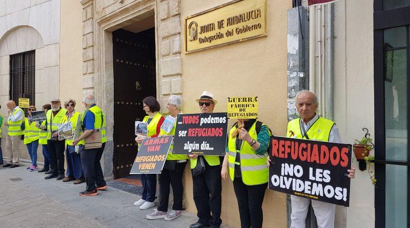 L@S Yay@sflautas de Córdoba salen los lunes a protestar