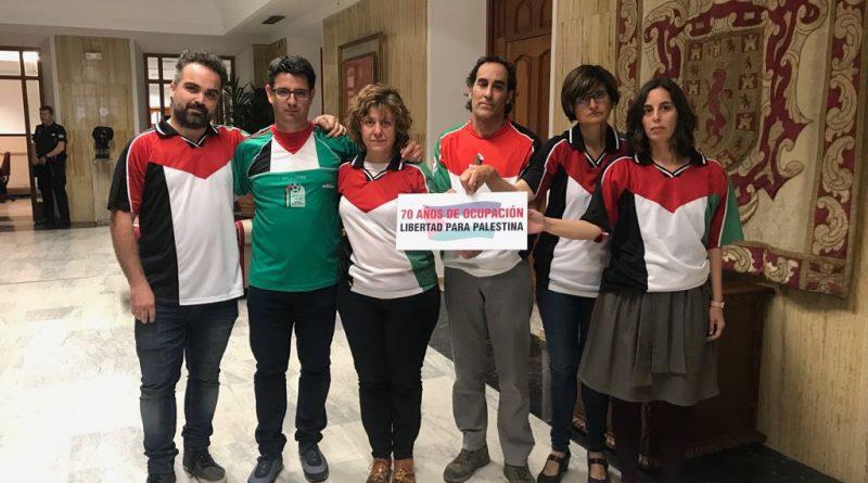 Apoyo del grupo municipal de IU al pueblo palestino