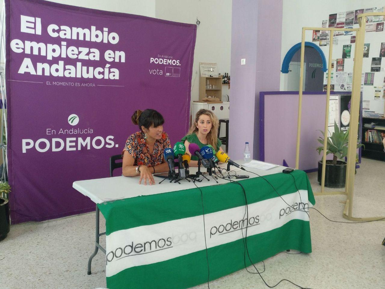 Podemos Andalucía propone la Contratación Pública Verde para mitigar el cambio climático