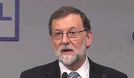 """Mariano Rajoy dimite sin reconocer la corrupción y esbozando una dura oposición: """"es lo mejor para mi y para el PP, o dicho de otra forma, es lo mejor para el PP y para mi"""""""