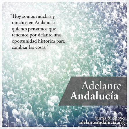 """Algunas aclaraciones sobre el proceso de confluencia """"Adelante Andalucía"""""""