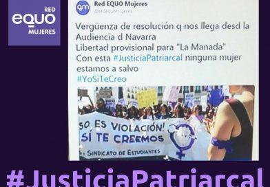 ¡Las Violencias Machistas nos matan, el Sistema Judicial Patriarcal nos remata!