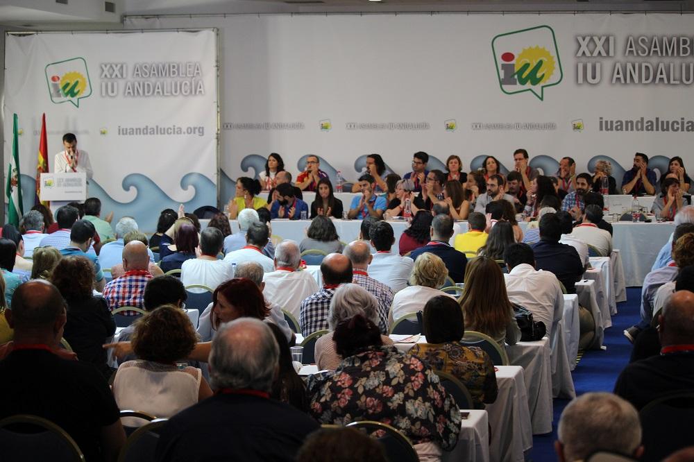 Militantes y simpatizantes de IU ratifican el acuerdo en Andalucía con Podemos con un 86% de apoyo y la confluencia nacional con el 76%