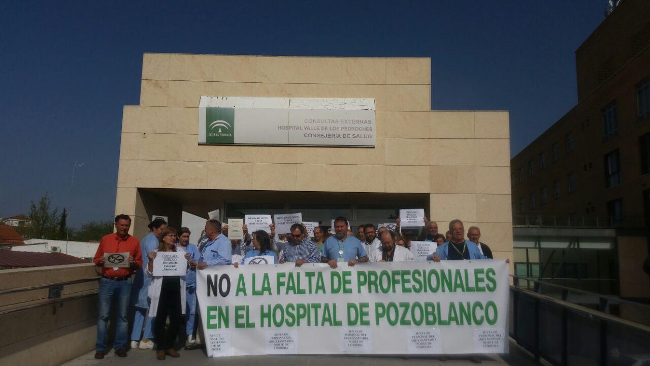 Podemos apremia a la Junta a que resuelva el déficit de anestesistas del Hospital de Pozoblanco