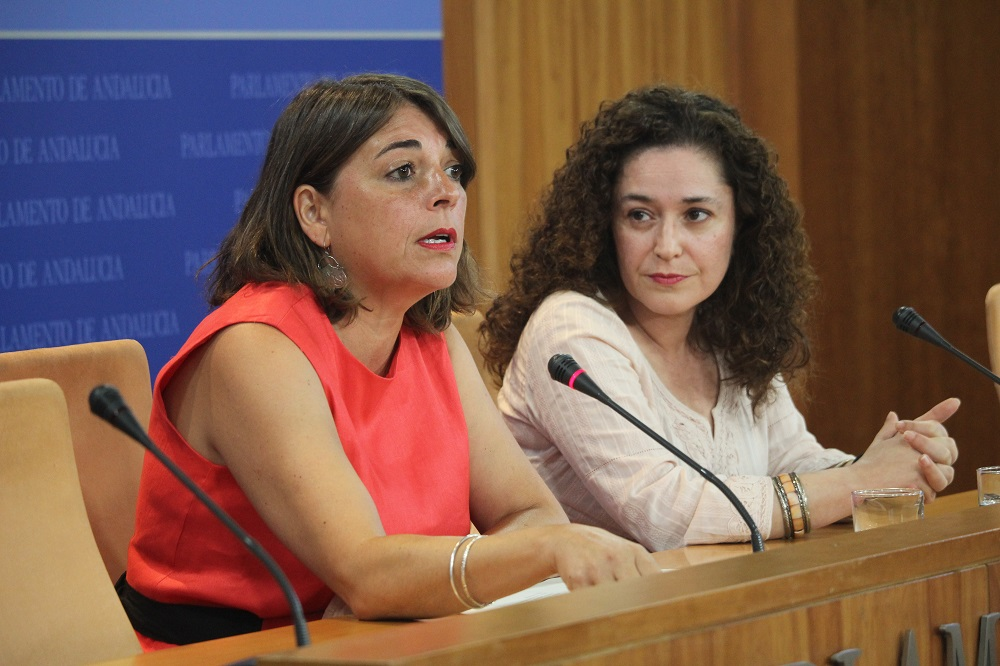 """Elena Cortés señala que es """"imprescindible"""" superar la brecha de género en las pensiones, que roza el 38% en Andalucía"""