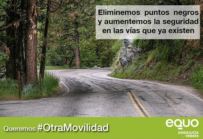 EQUO insiste en la necesidad de invertir en mejorar las carreteras ya existentes y en un modelo de movilidad multimodal