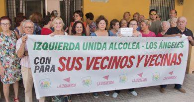 Izquierda Unida denuncia el mal estado en que se encuentra el Centro de Salud de Alcolea