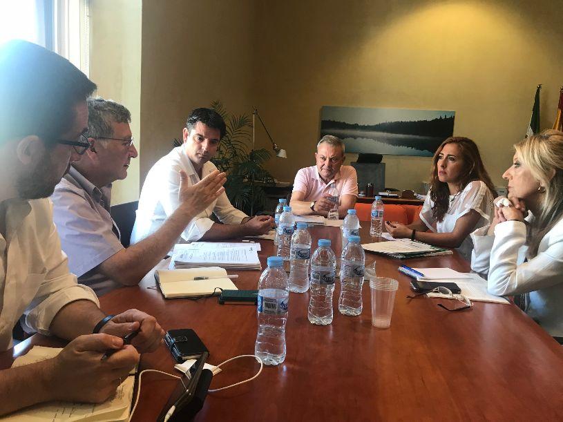 Urbanismo y Junta mantendrán reuniones para la Innovación del Plan Especial del Casco Histórico.