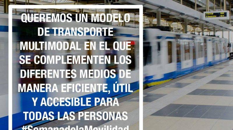 EQUO reclama una movilidad multimodal frente a la apuesta única por el coche