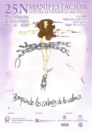 Calendario de movilizaciones contra la violencia machista en Córdoba