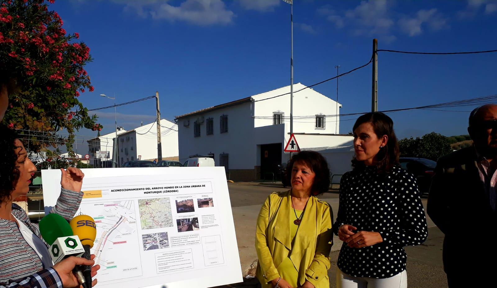 La CHG da solución a los problemas de inundaciones del Arroyo Hondo en Monturque