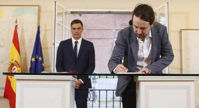 """Pablo Iglesias: """"la mejor garantía para que el acuerdo de los presupuestos salga es que la gente esté movilizada"""""""