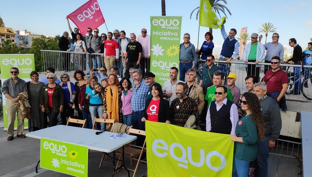 """EQUO Verdes-Iniciativa Andalucía va a las elecciones andaluzas como la """"única opción para garantizar que el ecologismo tenga representación en las instituciones"""""""