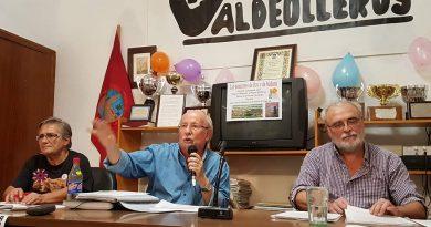 """Pepe Villamor: """"Nuestra fuerza está en la movilización social y en nuestro voto"""". Charla-debate """"Las pensiones de hoy y de mañana"""""""
