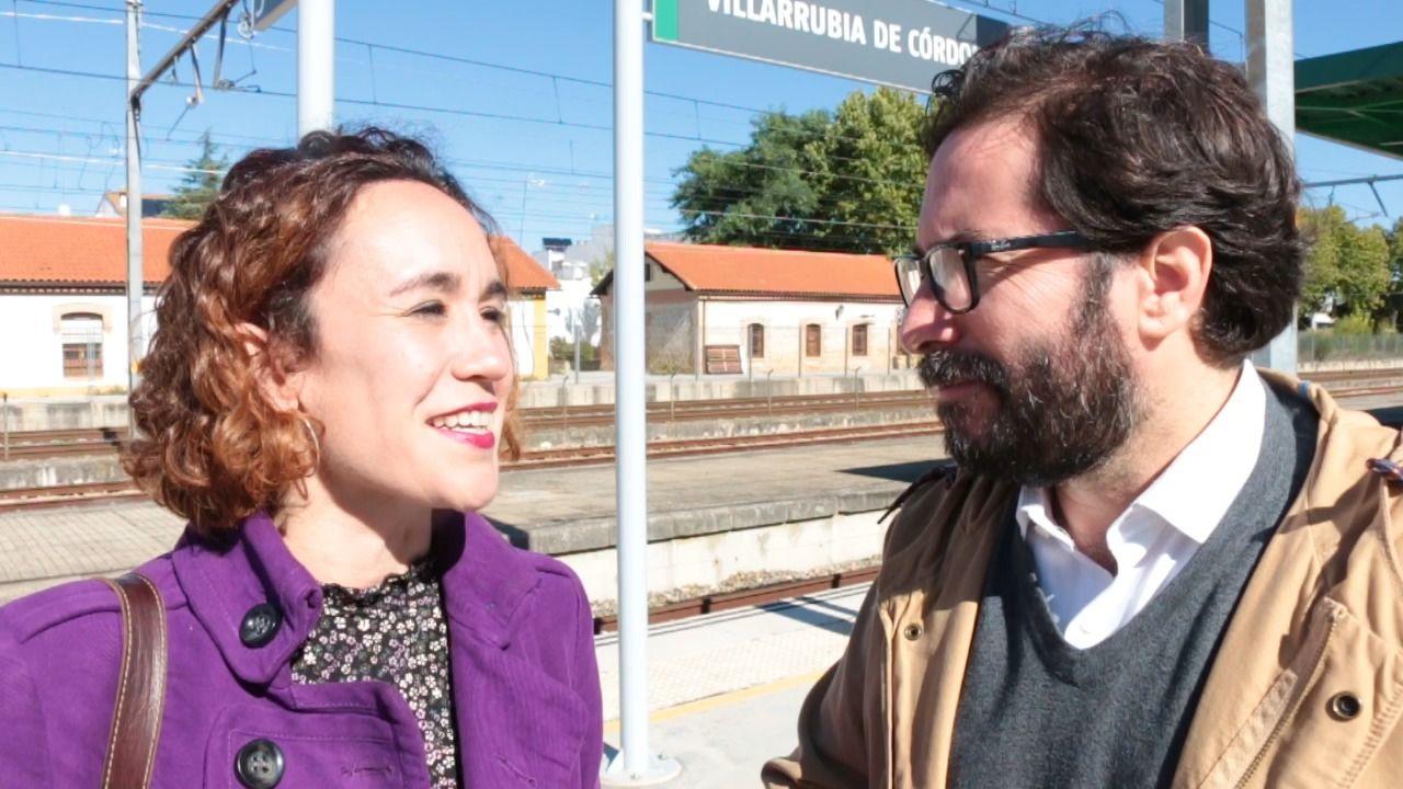 Adelante Andalucía defiende que el servicio de cercanías se amplíe al eje ferroviario de Palma, Villa del Río y Puente Genil