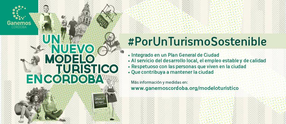 Ganemos Córdoba presenta un paquete de 13 medidas por un turismo sostenible