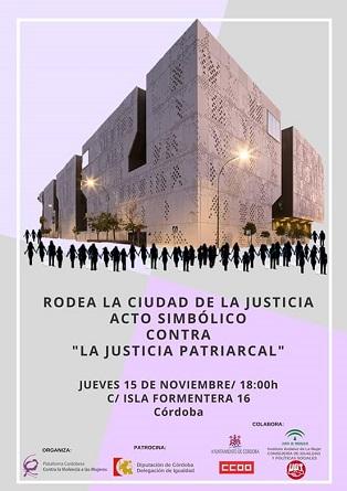 Acto simbólico: Rodea el palacio de Justicia. Conclusiones Jornadas