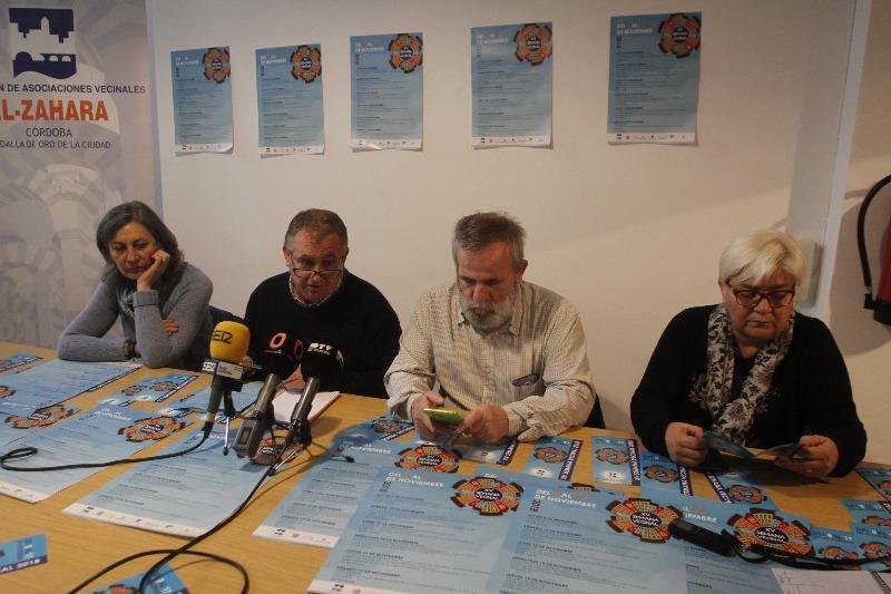Federación de Asociaciones Vecinales Al-Zahara celebra la XV semana vecinal del 10 al 17 de noviembre
