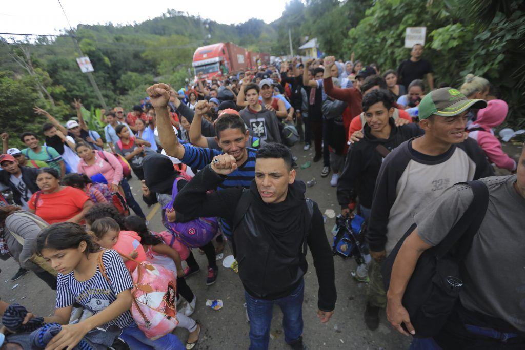 Caravana de centroamericanos rumbo a Estados Unidos
