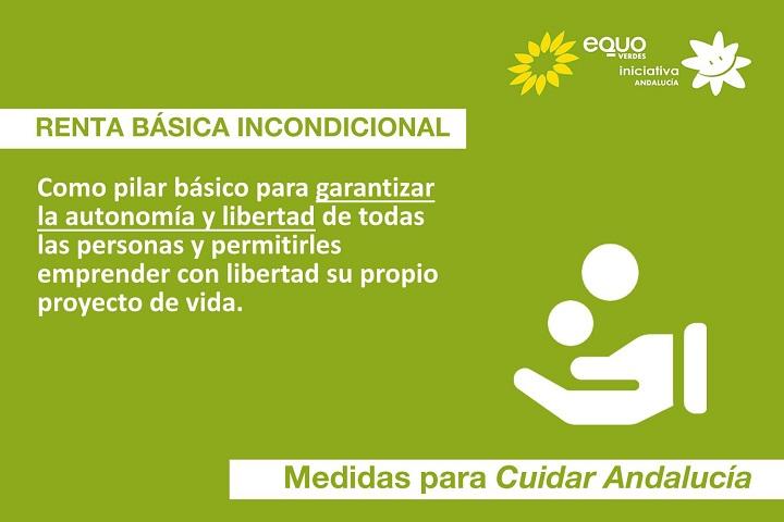 La Renta Básica Universal, una de las propuestas irrenunciables del programa de EQUO Verdes-Iniciativa Andalucía