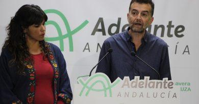 Adelante Andalucía presenta su programa de gobierno para los dos primeros años de legislatura