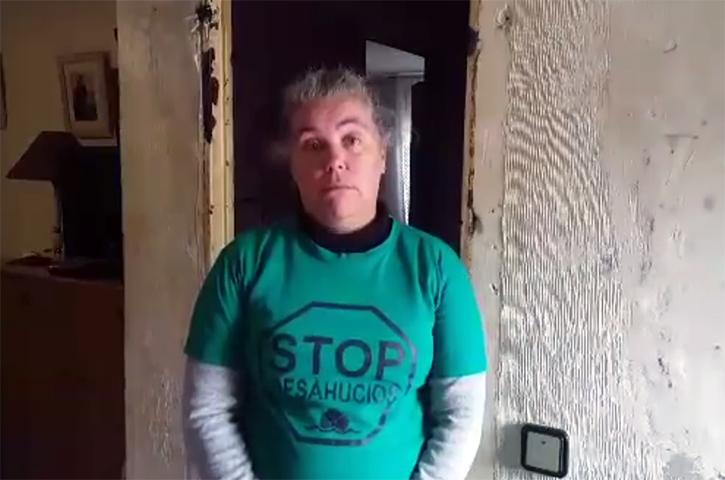 """Entrevista de Stop Desahucios Córdoba a Mari Carmen, tras pararse nuevamente su desahucio: """"no voy a rendirme nunca"""""""