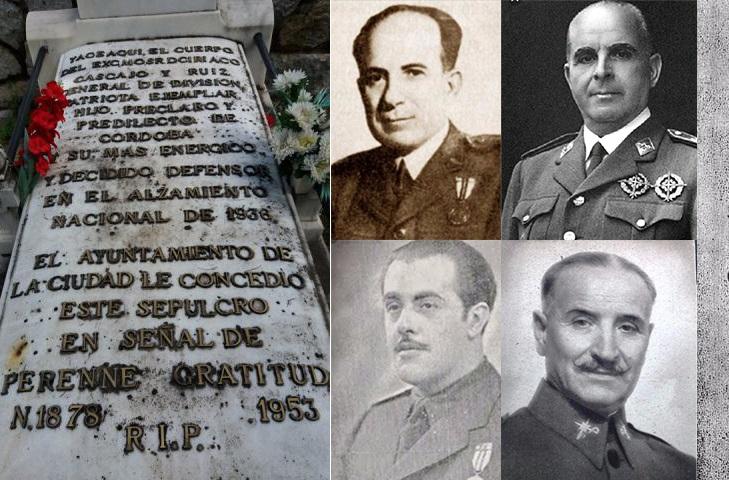Podemos Córdoba presenta una moción para retirar los títulos y condecoraciones a los golpistas de 1936