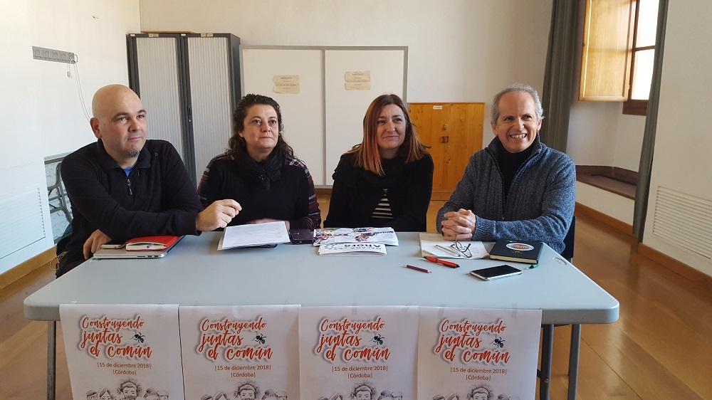 Ganemos Córdoba arropada por la Confederación Municipalista
