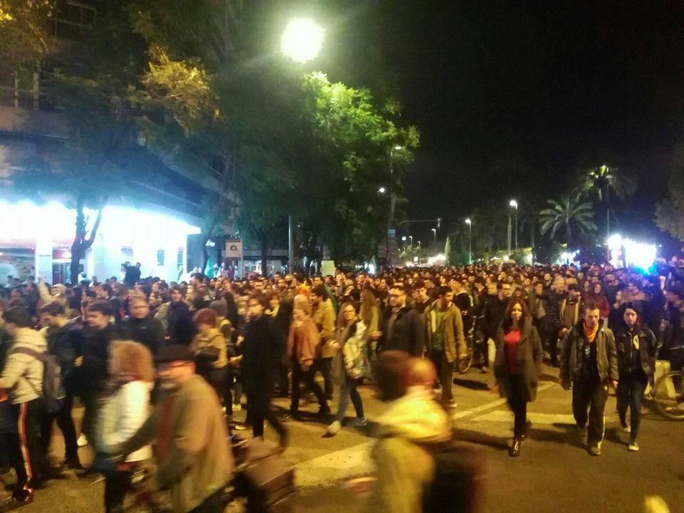 """Movilización en Córdoba contra la entrada de VOX en el Parlamento Andaluz: """"Andalucía no es lugar para el fascismo"""""""