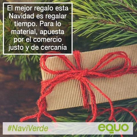 EQUO apuesta por unas Navidades sostenibles