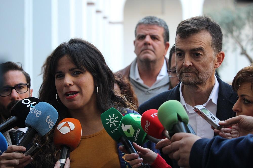 """Adelante Andalucía estará """"frente a las derechas y la extrema derecha"""" en las votaciones a la Mesa del Parlamento andaluz"""