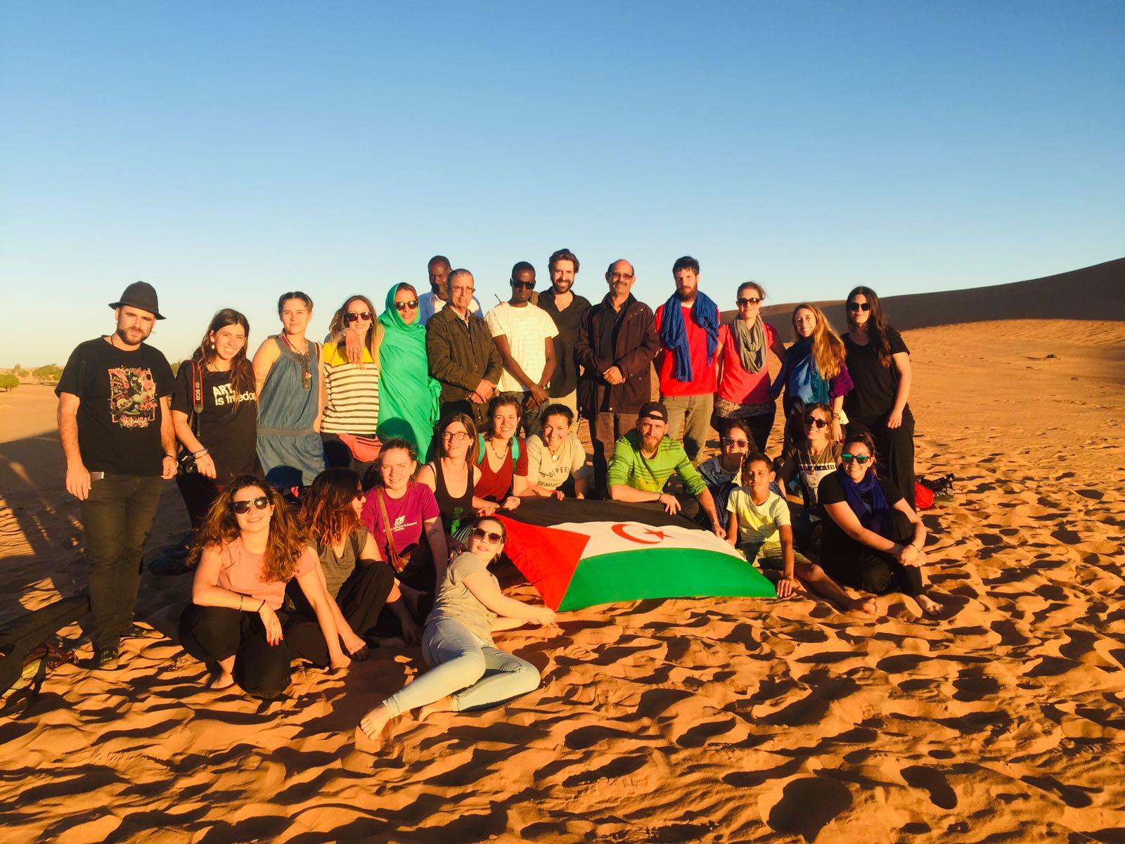 Un grupo de jóvenes cordobeses conocen la realidad del pueblo Saharaui a través del programa municipal de 'Jóvenes por el Sáhara'