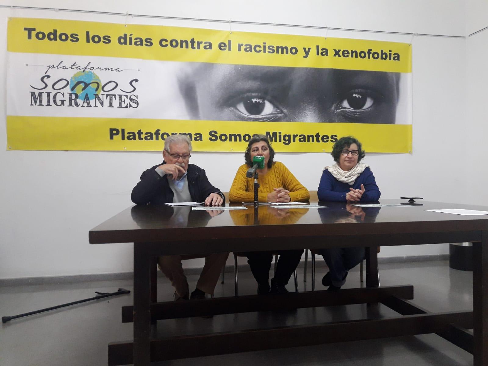 La Plataforma 'Somos Migrantes' convoca una manifestación por los derechos de las personas migrantes