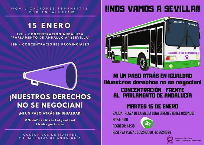 El Movimiento Ciudadano llama a participar en las movilizaciones en defensa de las mujeres