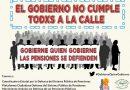 """Organizaciones sociales en defensa del sistema público de pensiones consideran el Real Decreto Ley 28/2018 del Gobierno Sánchez una """"inocentada"""", y llaman a movilizarse el 2 de febrero en las Tendillas"""