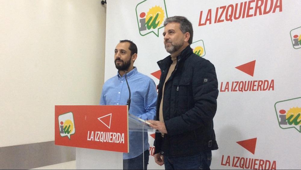 IU da a conocer que las denuncias interpuestas por el PSOE contra Francisco Ángel Sánchez han sido archivadas por la justicia