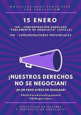 Nota aclaratoria de Mujeres 24H sobre la movilización feminista del próximo día 15