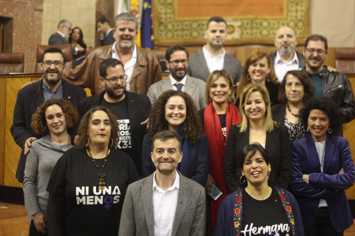 """Adelante Andalucía propone un candidato/a independente y un programa de mínimos para un Gobierno alternativo al """"tripartito reaccionario"""""""